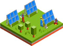 太陽光発電所設計・施工